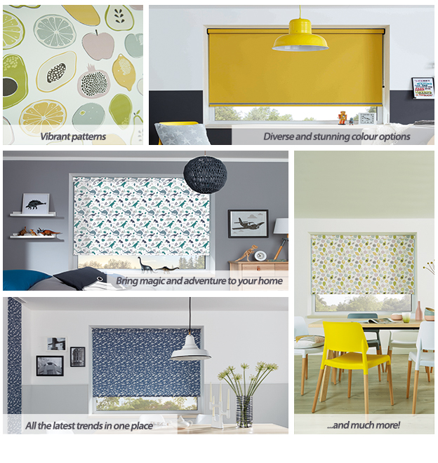The Roller Blind Colour Collection