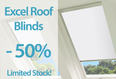 Excel Roof Blinds 50% Off at Capricorn Blinds
