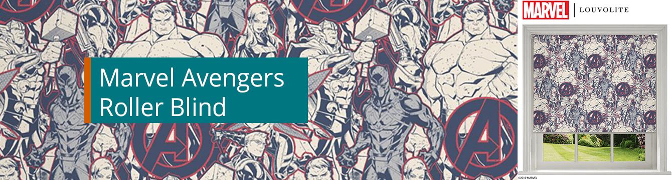 Marvel Heroes Roller Blind