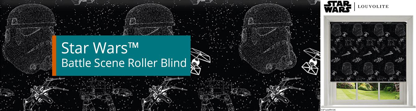Star Wars™ Battle Scene Roller Blind
