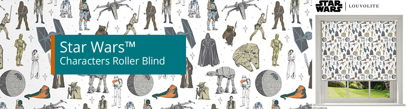 Star Wars™ Characters Roller Blind
