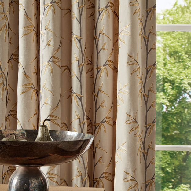 Sapling Pattern Curtain