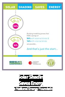 Solar Shading Saves Energy