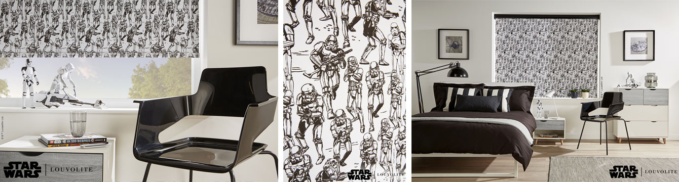 Star Wars blackout roller blind