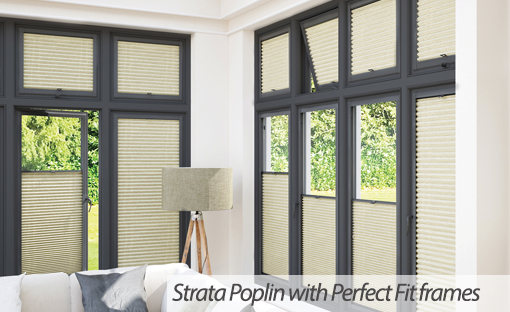 Strata Poplin from Capricorn Blinds