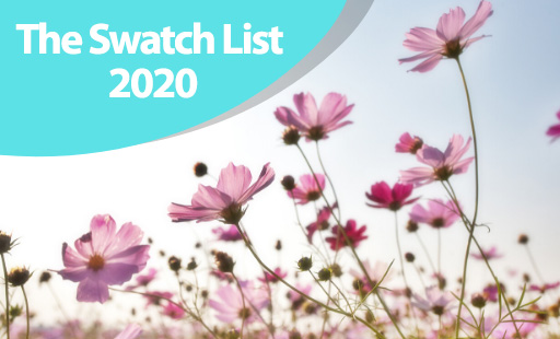 The Swatch List 2020