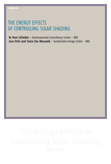 Energy Effects of Solar Shading