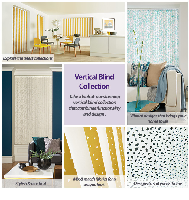 Vertical Blind Colour & Pattern Collection