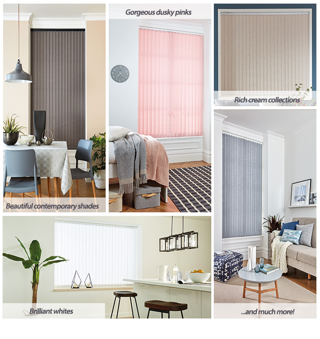 Vertical Blinds Neutral Collection
