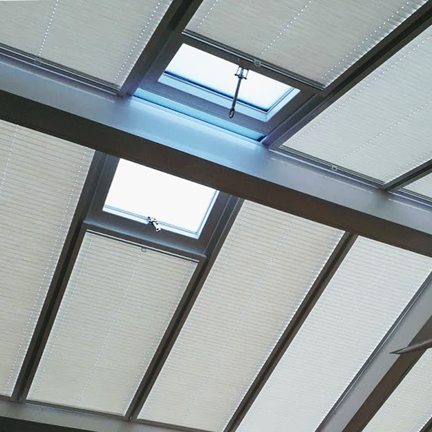 made to order roof blinds for conservatories