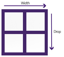 Window measurement resized guide