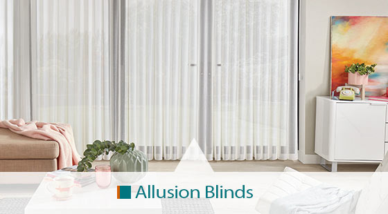 Allusion blinds made to order from Blinds & Curtains Online