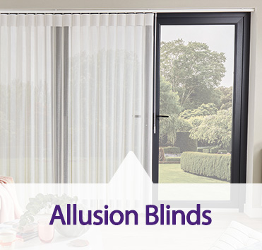 Allusion blinds made bespoke from Capricorn Blinds