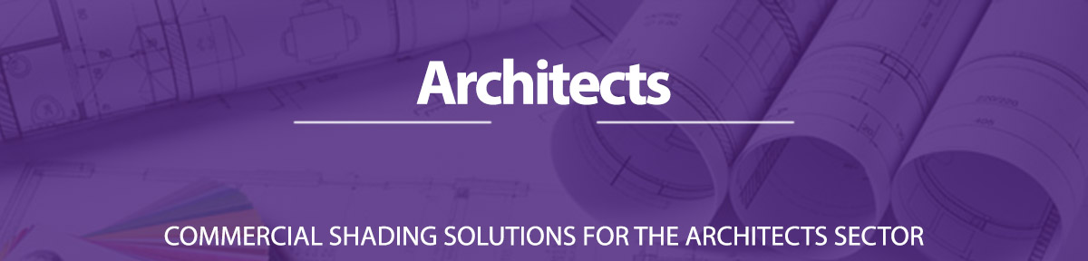 Window Blinds for Architect market sectors in the UK