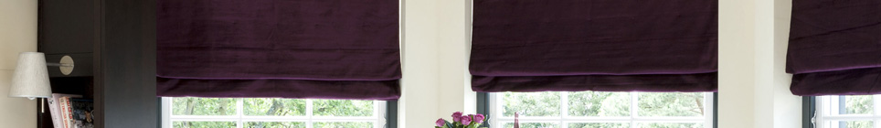Roman Blinds made to order from Blinds & Curtains Online