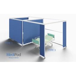 MediPod - Type 1 - Freestanding Large 3m x 3m Kit