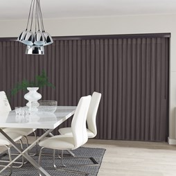 Horizon Graphite Allusion Voile Blind
