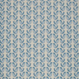 Scandi Birds Capri Eyelet Curtains