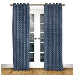 Arley Dusk Eyelet curtains