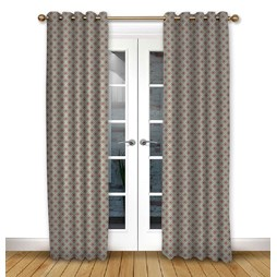 Arley Ruby Eyelet curtains