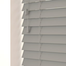 Faux wood venetian blinds