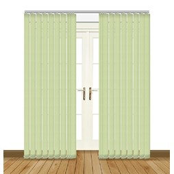 Aura Copper vertical blind