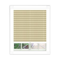 Aura Cream Perfect Fit Pleated Blind | Buy Conservatory Blinds Online