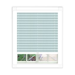 Aura Ice Perfect Fit Pleated Blind | Order White Conservatory Blind