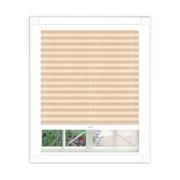 Aura White Perfect Fit Pleated Blind | Perfect Fit Pleated Blinds
