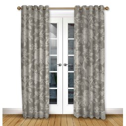 Charlbury Dove Eyelet curtains