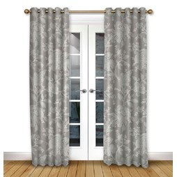 Charlbury Flint Eyelet curtains