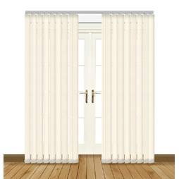 Diva Intimate PVC blackout waterproof vertical blind