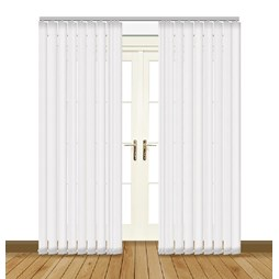 Diva Obsession PVC blackout waterproof vertical blind