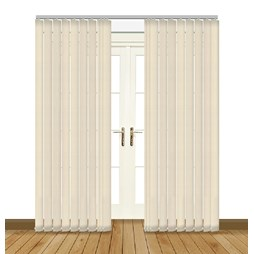 Diva Vanity PVC blackout waterproof vertical blind