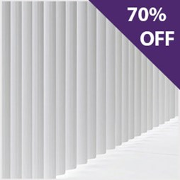 Mirren wooden venetian blind now 70% off at Capricorn