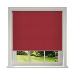 Banlight Duo Cerise roller blinds