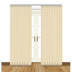 Eclipse Atlantex ASC Beige Vertical Blinds