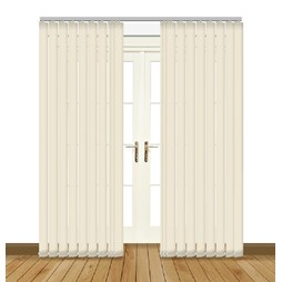 Eclipse Atlantex ASC Cream Vertical Blinds