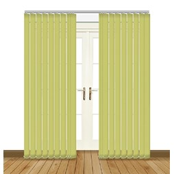 Eclipse Atlantex ASC Fresh Apple Vertical Blinds