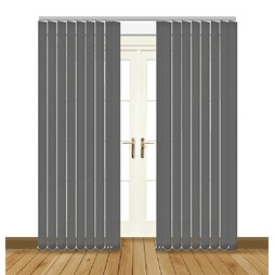Eclipse Atlantex ASC Grey Vertical Blinds