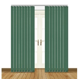Eclipse Atlantex ASC Hunter Green Vertical Blinds