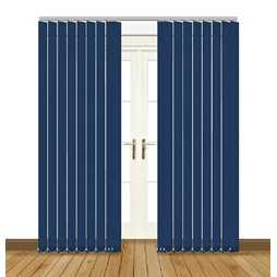 Eclipse Atlantex Navy Vertical Blinds