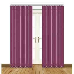 Banlight Duo Grape vertical blind