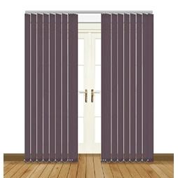 banlight duo fr angora zinc vertical blinds
