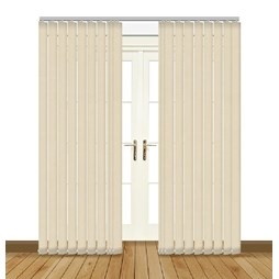 eclipse chancery ivory vertical blinds