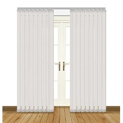 eclipse flow snowdrop vertical blinds