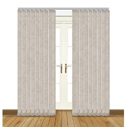 Eclipse Japonica ASC Hessian Vertical Blinds