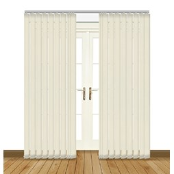 Japonica asc ice vertical blinds