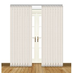 Kassala cornsilk vertical blinds uk