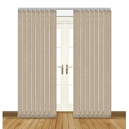 linenweave sand vertical blinds uk